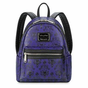 Disney Loungefly Haunted Mansion Mini backpack